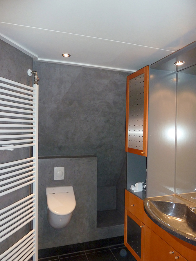 Microcement rotee deco stuc - Micro badkamer ...